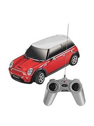 F&P Juguete Radiocontrol Mini Cooper 2/S 1:18 Rojo
