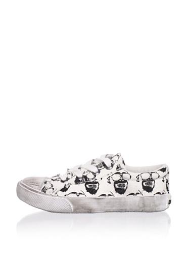 Diesel Kid's Melting Pot Citizen Sneaker (White/Black)