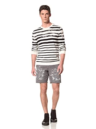 Edun Men's Stripe Crewneck Sweater (Calico)
