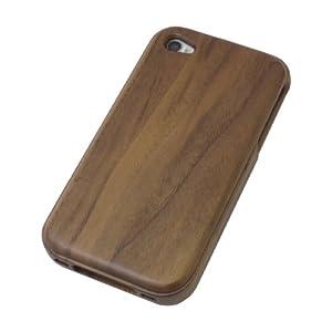 [HAIKAU] iPhone 4/4S 木製ケース ウッドケース 上質な天然ウッド製 くるみ wood case for iPhone 4/4S
