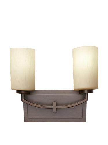 Feiss 2-Light Vanity Fixture, Bronze