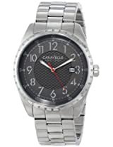 Bulova Analog Grey Dial Men's Watch - 43B134