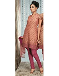 Rajrang Unstitched Cotton Block Printed Salwar Suits Women's Wear Dress Material - B00AXXWKFW