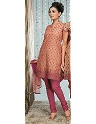 Rajrang Unstitched Cotton Block Printed Salwar Suits Women's Wear Dress Material - B00AXXWKFW