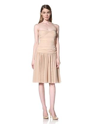 Norma Kamali Women's Walter Flared Dress (Natural)