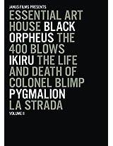 Essential Art House, Volume II (Black Orpheus / The 400 Blows / Ikiru / The Life and Death of Colonel Blimp / Pygmalion / La Strada)