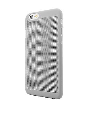 NUEBOO Hülle Microperforada iPhone 6/6S grau