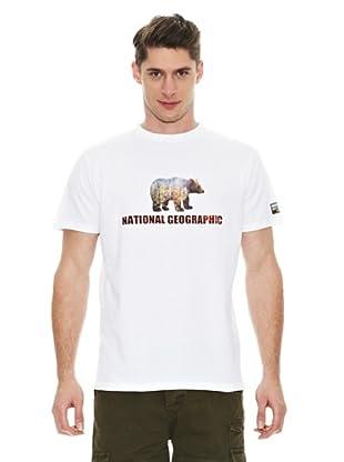 National Geographic Camiseta Oso (Blanco)