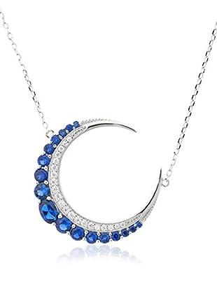 Ariadna & Alba Plata Halskette Moon Sterling-Silber 925