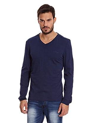Paul Stragas Camiseta Manga Larga Jason (Azul Oscuro)