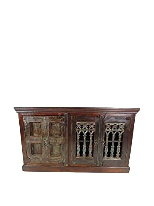 Moti 2 Iron Doors & 1 Old Door Plasma/Buffet, Multi
