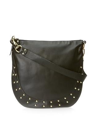 Pietro Alessandro Women's The Becca Shoulder Bag (Black)