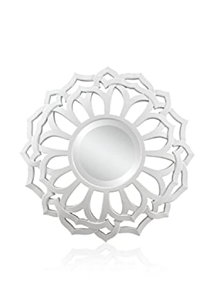 Cooper Classics Martin Mirror, Glossy White
