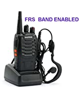 BAOFENG FRS/GMRS VERSION , 16 CHANNEL UHF 462Mhz WALKIE TALKIE - WORKS WITH ALL BRAND OF FRS RADIOS- motorola,cobra,midland -1 piece