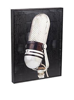 Chris Dunker for Phylum Design TTC Microphone, Encaustic Photograph