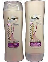 Suave Professionals Moroccan Infusion Color Care Set: Shampoo and Conditioner 12.6oz