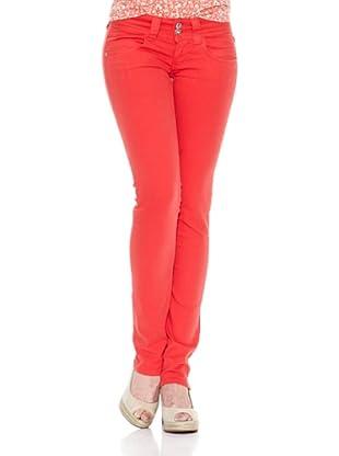 Pepe Jeans London Pantalón Venus (Rojo Claro)