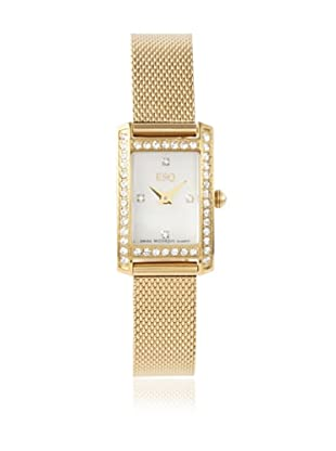 ESQ by Movado Women's 07101383 Neve Square Gold Stainless Steel Watch