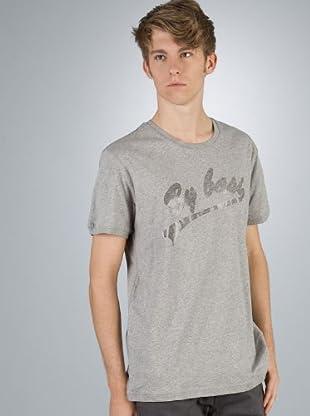 By Basi Camiseta Print (gris)