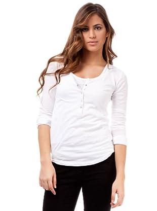 Ikks Camiseta Doble (blanco)