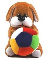 Rushi Enterprise Dog Cute Teddy Stuffed Soft Plush Soft Toy kids birthday (19 cm)