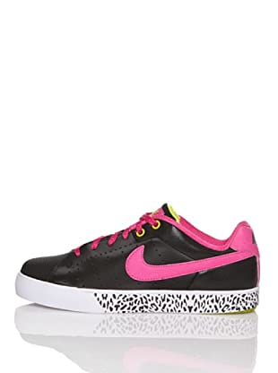 Nike Zapatillas Casual Court Tour (Gs) (Negro / Rosa)