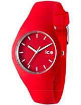Ice-Watch Analog Red Dial Unisex Watch - ICE.RD.U.S.12