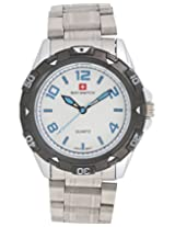 Baywatch 2518 Analog Watch - For Men(Steel) 2518WHITE
