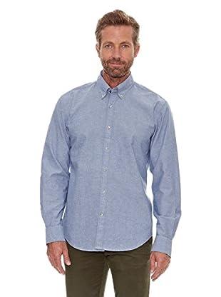 Cortefiel Camisa Chambray (Azul)