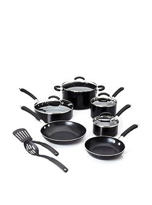 Farberware Millennium 12-Piece Porcelain Nonstick Cookware Set