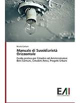 Manuale Di Sussidiarieta Orizzontale