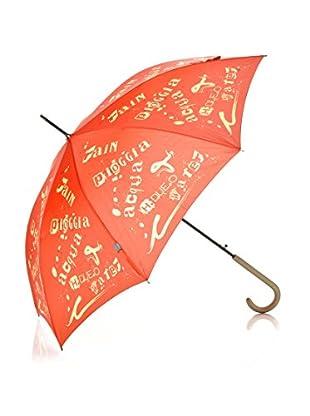 H.Due.O Ombrello Rain Rosso