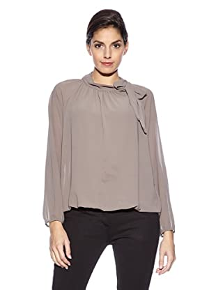 Love U Bluse Italy (Taupe)