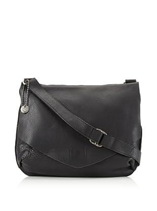 John Varvatos * USA Men's Leather Messenger Bag