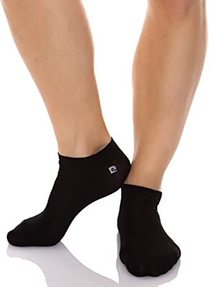 Pierre Cardin Pack 3 Pares Calcetines Logo (Negro)