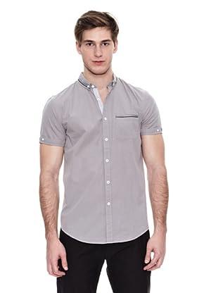 Springfield Camisa Vestir M/C. N1 Dobby Tape