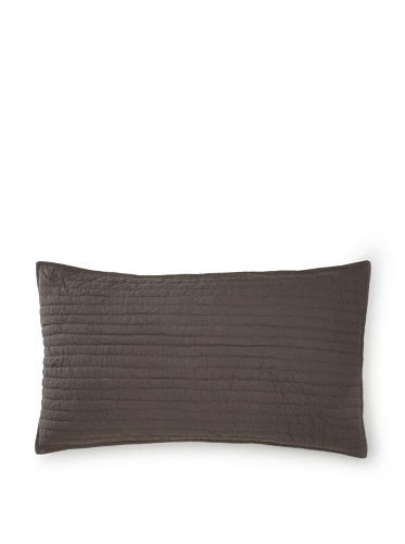 Amity Home Basic Handmade Pillow Sham (Charcoal)