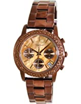DKNY 3-Hand Chronograph with Glitz Women's watch #NY8539