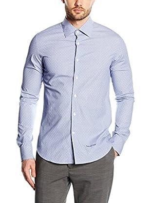 Pedro del Hierro Camicia Uomo Slim F-A-F Jaq Spread