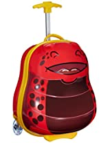 Sunbaby Bug Design Synthetic 41 cms Red Children's Luggage (SB-1020_Red)