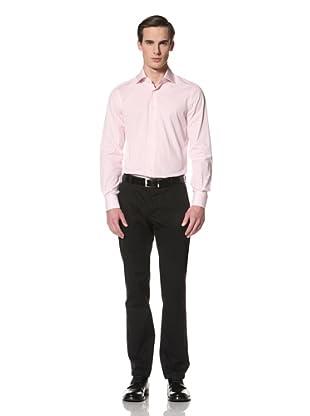 De Corato Men's Dress Shirt (Pink Stripe)