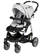 Kiddy Sport N Move Stroller, Silver (Discontinued by Manufacturer)