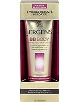 Jergens BB Body Cream for Darker Skin Tones, 7.5 Ounce