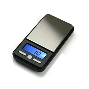 American Weigh Scale Ac-650 Digital Pocket Gram Scale, Black, 650 G X 0.1 G
