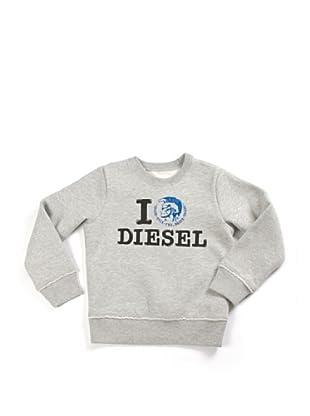 Diesel Kid Pullover (Grau)