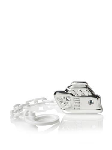 Cunill Barcelona Sailor Pacifier Clip (Silver)