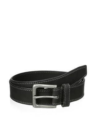 Timberland Men's Boot Leather Belt (Black)