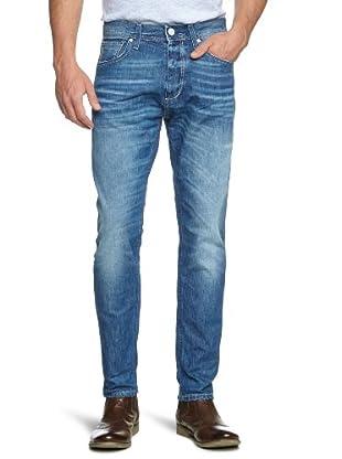 Selected Pantalón Nueva Jersey (Azul Denim)