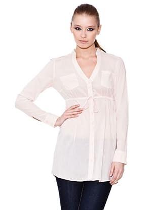 Esprit Camisa Larga (Crema)