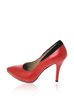 Pierre Cardin Zapatos Salón Amanda (Rojo)